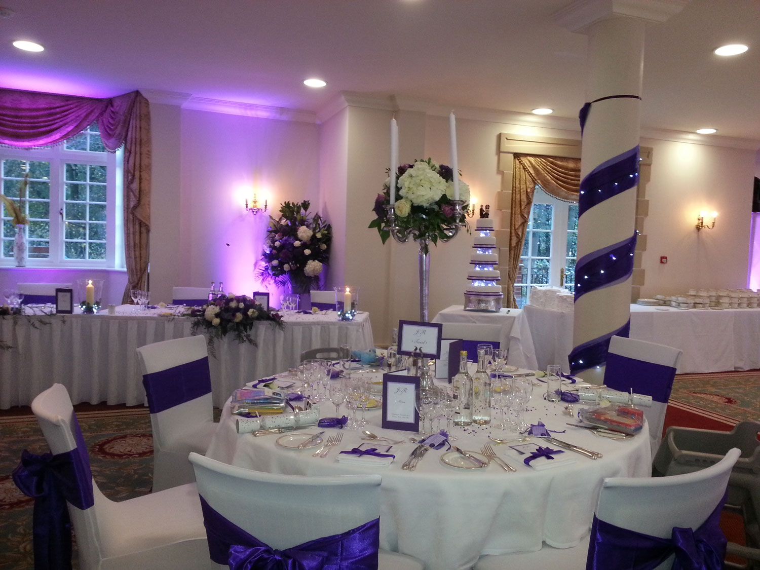Modern Purple Sashes