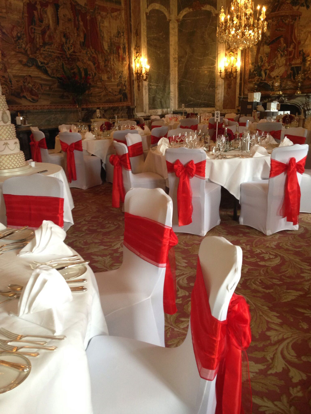 Opulence red sashes