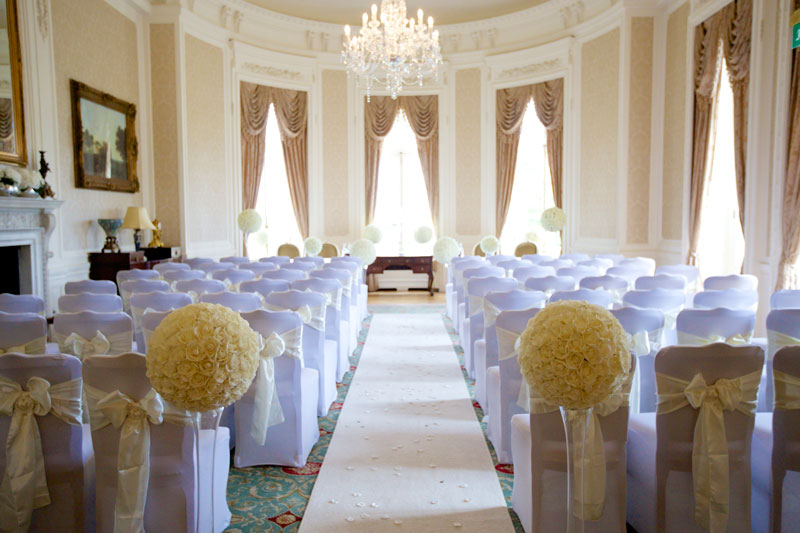 Luton Hoo Wedding Ceremony Wedding Venue Decorators